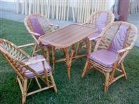 stolice i stolovi od pruca