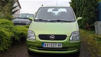 Opel Agila benzin-gas
