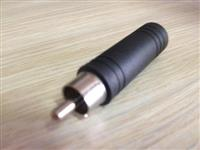 Adapter Rca Muski / 1 x 6,3mm Ženski Mono