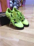 Zeleno-Crne addidas patike za mali fudbal