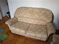 Trosed,dvosed i fotelja u super stanju Simpo