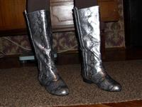 Boom Boom srebrne zenske cizme br.39