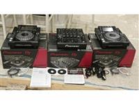 2x Pioneer CDJ-2000 Nexus & 1x PIONEER DJM-900 N