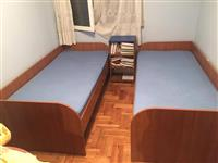 2 Kreveta Forma Ideale sa dusecima