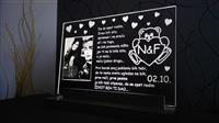 Poklon za Dan Zaljubljenih - Lampe sa slikom