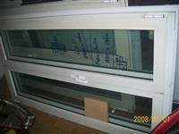 4 aluminiska prozora  staklo termopan