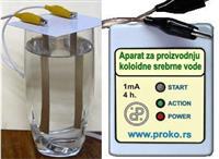 Aparat za proizvodnju srebrne vode Light