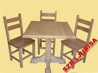 Drvene stolove i stolice