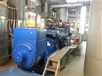 Gas Generator MWM DEUTZ 685 KW Type. TBG 616 V 16
