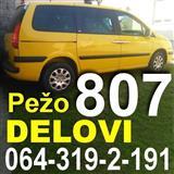 Pezo 807 DELOVI Peugeot
