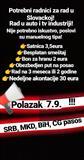 Posao Slovacka, polazak 7.9