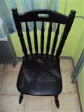 Trpezarijski sto-rucni rad i 6 stolica