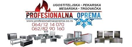 Profesionalna oprema - ugostiteljska oprema
