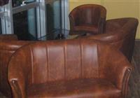 Fotelja potkovica dvosed