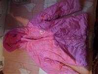 Roze jaknica za devojcicu