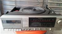 Gramofon sa radiom i kasetofonom,mini linija