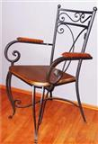 Stolica od kovanog gvozdja