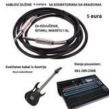 Kablovi i konektori za ozvučenje