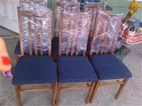 6 stolice teget