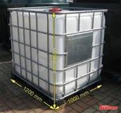 Plasticne cisterne 1000L sa slavinom