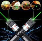 Laser Vert 5000mw etoiles 8en1