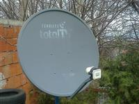 Satelitska antena total tv