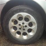 Gume za Alfa 156 alu felne 15 sa gumama