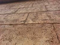 Gumeni kalupi fasadi dekorativni kamen, stampani
