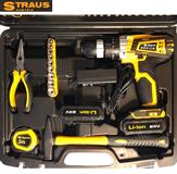 Aku bušilica Straus Austria 24V + 2 baterije i 150