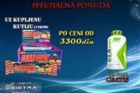 12 proteinskih cokoladica-GRATIS CLA