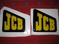 stikeri JCB 12x12cm