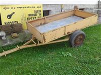Prikolica IMT za frezu, manji traktor