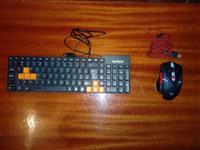 Miš Demon AL- GM041 + Tastatura RoTECH