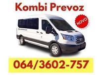 Kombi prevoz Nova Pazova - 064 360 27 57 - 00 - 24