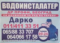 "VODOINSTALATER ""DR PROFI"" Beograd"