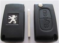 Kuciste kljuca za Peugeot 207, 307, 308