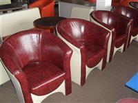 Skoljka -fotelje