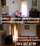 Z L A T I B O R, APARTMAN, 12 evra/dan