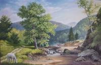 Umjetnička slika - Krajolik