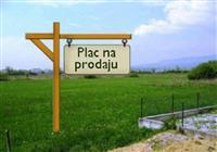 Plac 546m2 Rumenka