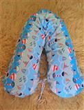 Jastuk za trudnice + navlaka M vel.2