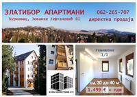 LUX apartmani 38m2 Zlatibor