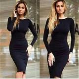 Prelepa crna haljina (H09)