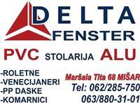 Pvc i alu stolarija sabac Delta Fenster