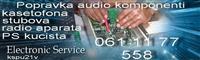Servisiranje audio komponenti i racunara