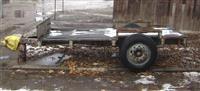 Traktorska prikolica  drvarka