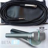 Mikrofonski Set Music Master Beta 87 sa Kablom