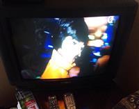 Samsung tv crt E-56 i Optikum DVB-T2 Risive