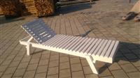 Proizvodnja drvenih lezaljiki za suncanje, bazene,