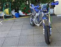 Yamaha wr450 yz450 Registrovan